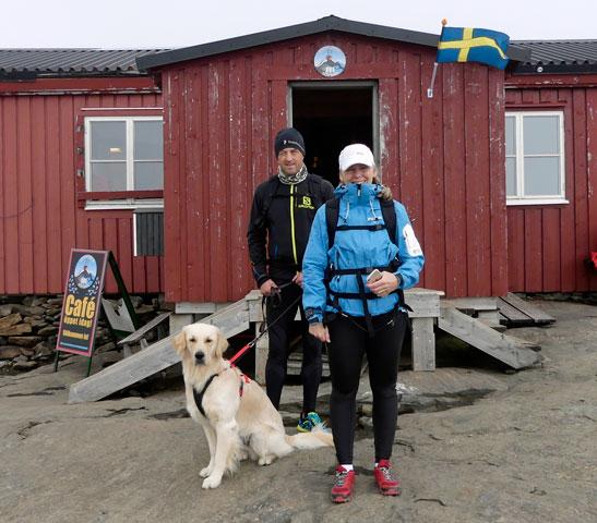 Toppskutan på Åreskutans topp.