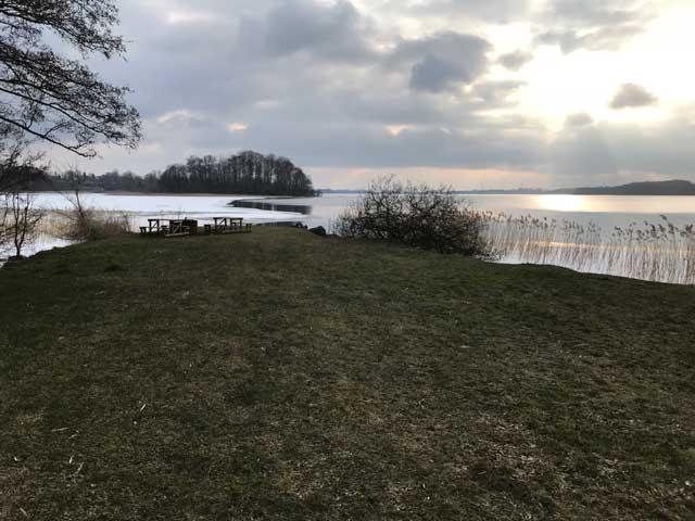 Solnedgång Österslövs badplats