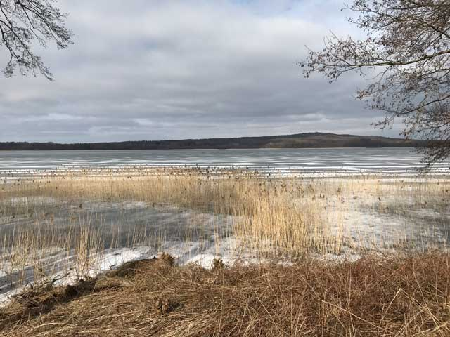Is på Råbelövsjön