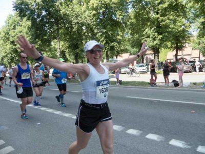 Ingrid efter 14 km