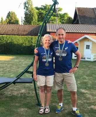 Snygg Finisher t-shirt och medalj.