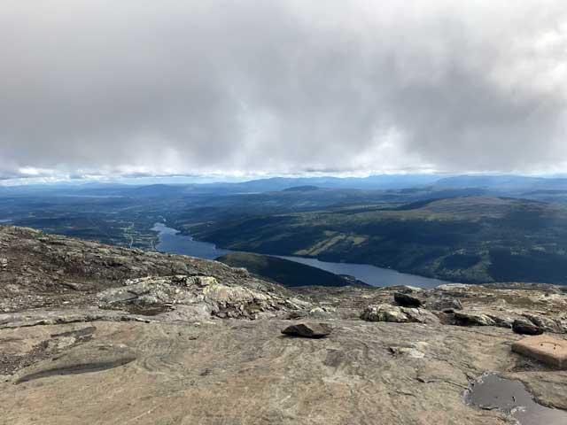 Fin utsikt från toppen på Åreskutan