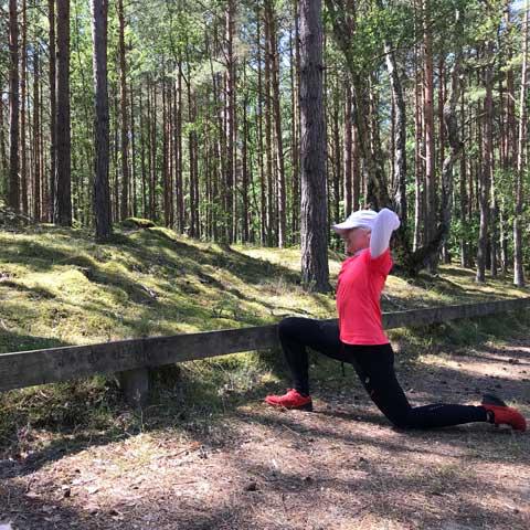 stretchövning höften