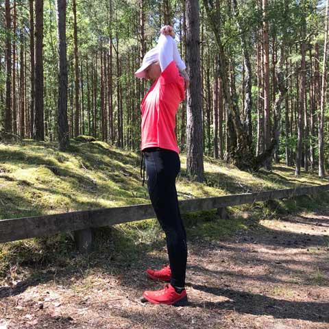 stretchövning triceps