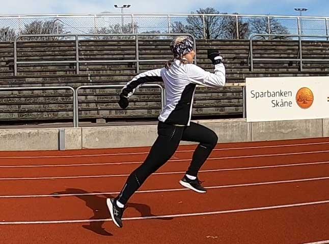 Löpteknik och löpstyrka