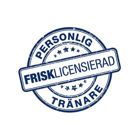 Logga nationell PT-licens Almega Friskvårdsföretagen